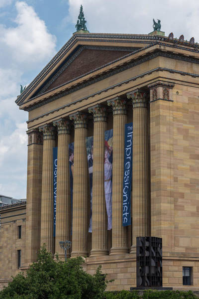 Photograph - Philadelphia Museum Of Art  by Terry DeLuco