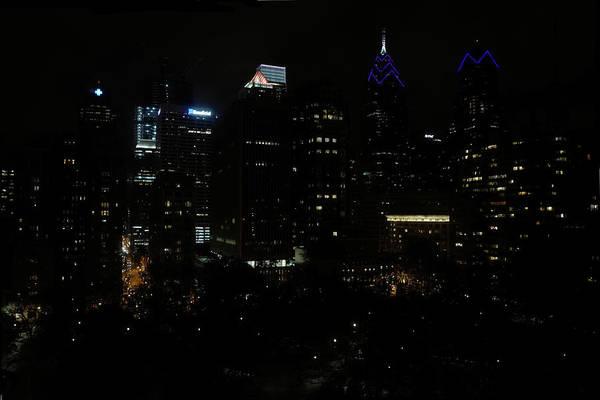 Photograph - Philadelphia Night Lights by Rona Black