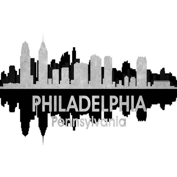 Digital Art - Philadelphia Pa 4 Squared by Angelina Tamez