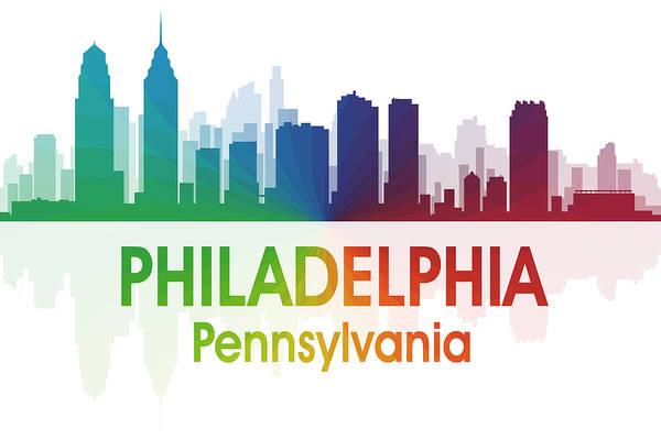 Metropolis Mixed Media - Philadelphia Pa by Angelina Tamez