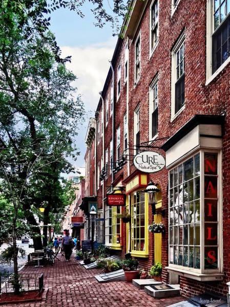 Photograph - Philadelphia Pa - S 2nd Street by Susan Savad