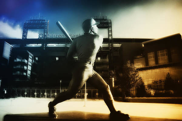 Citizens Bank Park Wall Art - Photograph - Philadelphia Phillie Mike Schmidt by Bill Cannon