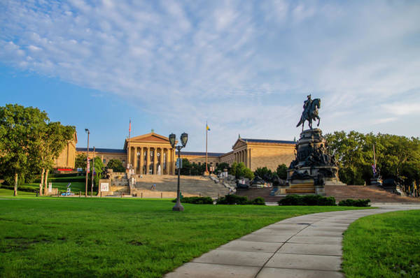 Photograph - Philadelphia Sights - The Museum Of Art by Bill Cannon