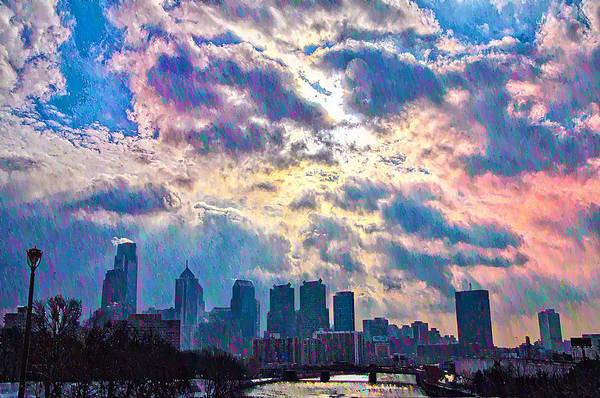 Photograph - Philadelphia Sky by Bill Cannon