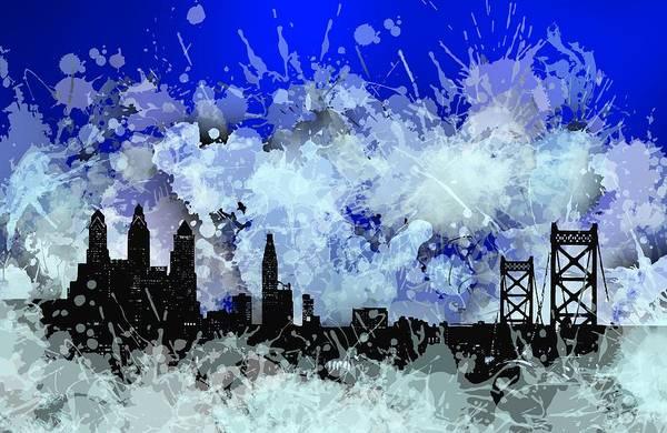 Philadelphia Skyline.1 Art Print
