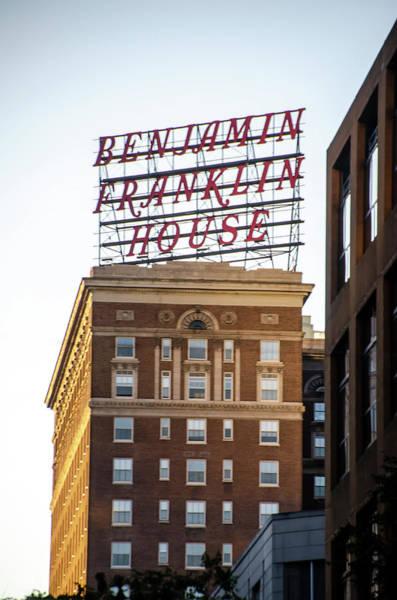 Wall Art - Photograph - Philadelphia - The Benjamin Franklin Hotel by Bill Cannon