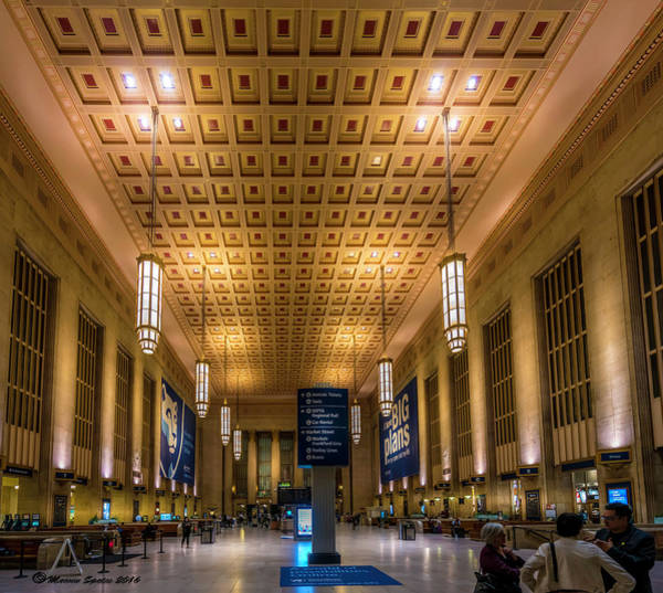 Wall Art - Photograph - Philadelphia Train Station by Marvin Spates