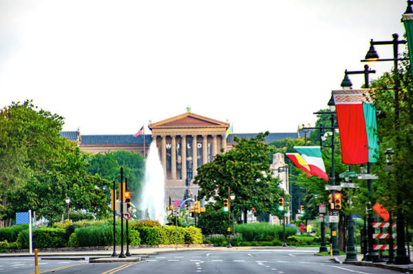 Photograph - Philadelphia Vista - The Art Museum by Bill Cannon