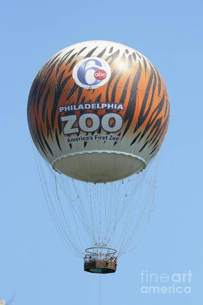 Photograph - Philadelphia Zoo Balloon 1st Design by Ken Keener