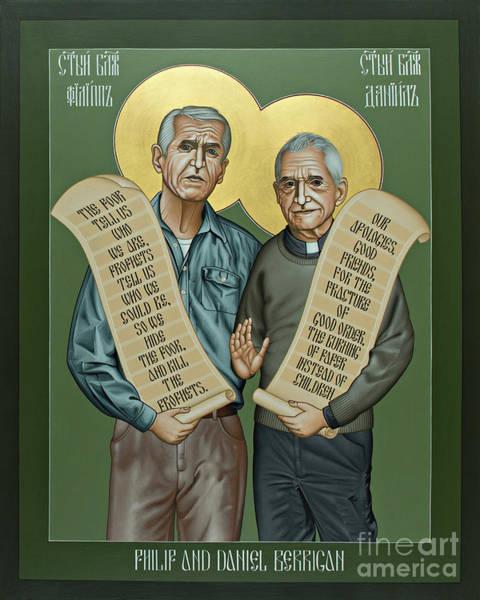 Philip And Daniel Berrigan Art Print