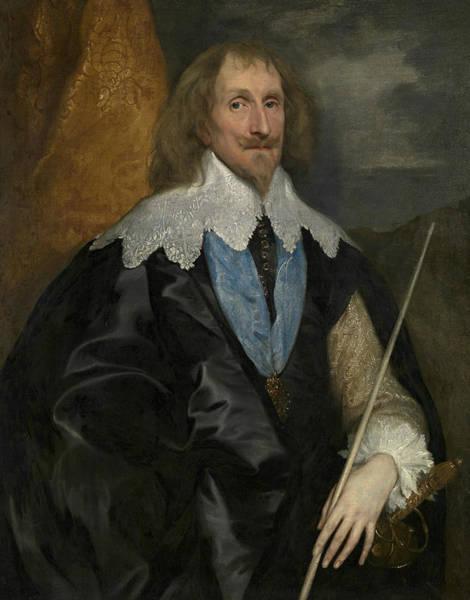 Painting - Philip Herbert, 4th Earl Of Pembroke by Anthony van Dyck
