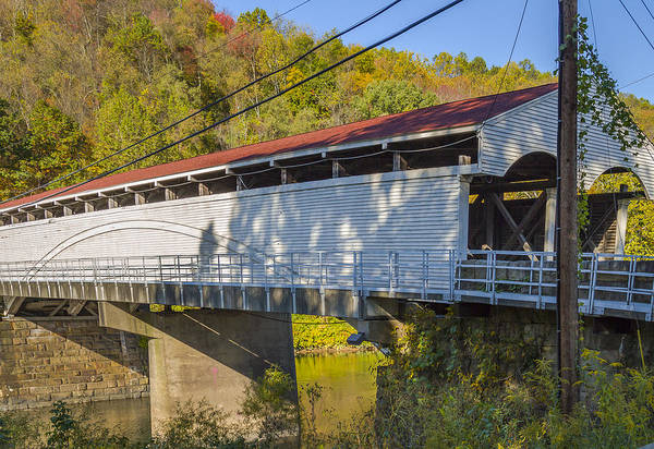 Photograph - Philippi Covered Bridge by Jack R Perry