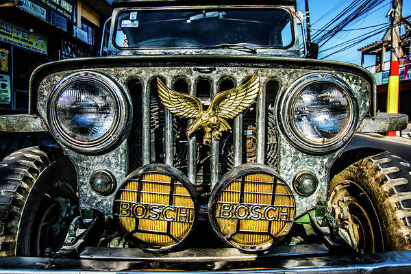 Photograph - Philippine Jeep  by Michael Arend