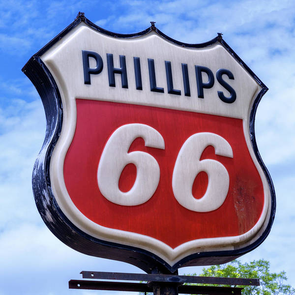 Wall Art - Photograph - Phillips 66 - 1 by Stephen Stookey