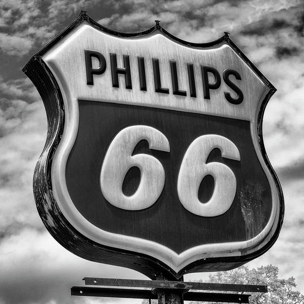 Wall Art - Photograph - Phillips 66 - 2 by Stephen Stookey