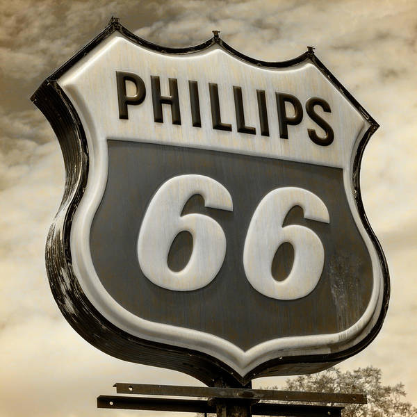 Wall Art - Photograph - Phillips 66 - 4 by Stephen Stookey