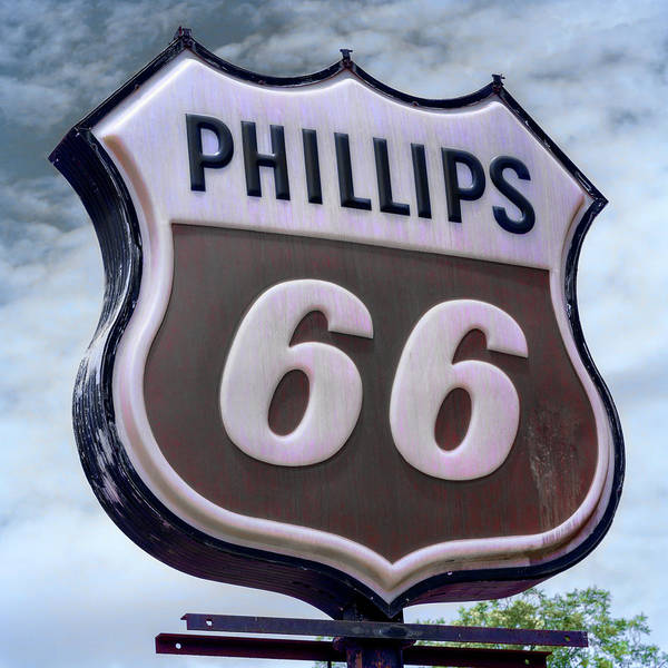 Wall Art - Photograph - Phillips 66 - 5 by Stephen Stookey