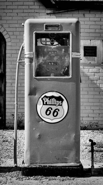 Wall Art - Photograph - Phillips 66 Gas Pump On Route 66 by Stephen Stookey