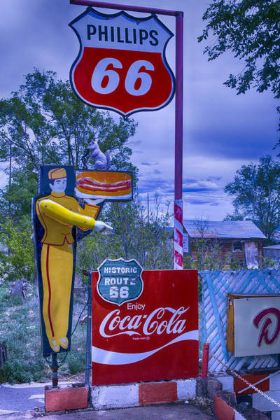 Wall Art - Photograph - Phillips 66 Sign by Garry Gay