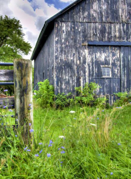 Photograph - Phillip's Barn #3 by Sam Davis Johnson
