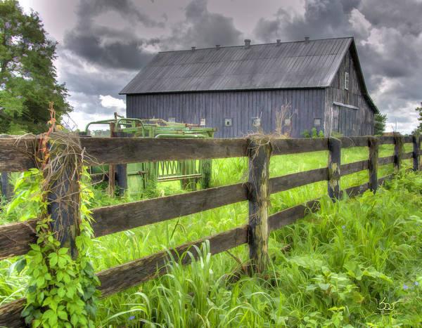 Photograph - Phillip's Barn #4 by Sam Davis Johnson