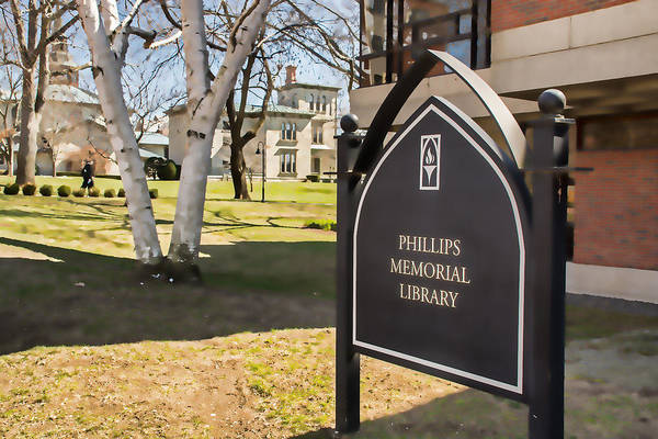 Photograph - Phillips Memorial Library Providence College, Artistic by Nancy De Flon