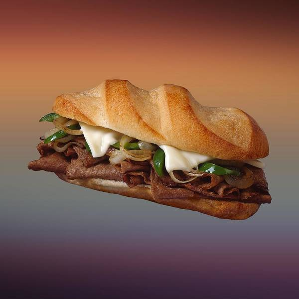 Philly Digital Art - Philly Cheese Steak  by Movie Poster Prints