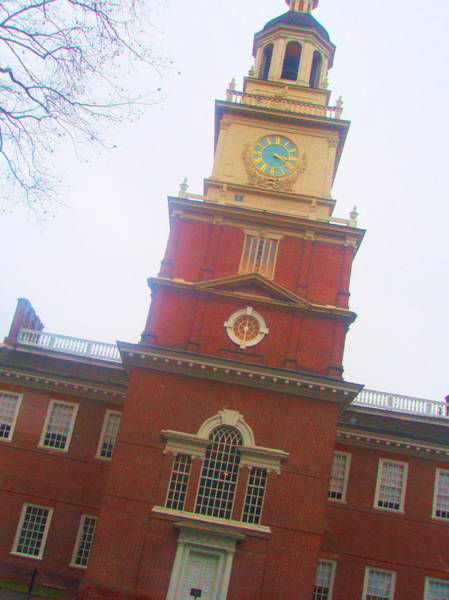Wall Art - Photograph - Philly Independence Hall by Francis Flatley