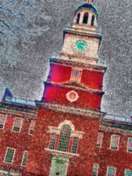 Wall Art - Photograph - Philly Independence Hall2 by Francis Flatley
