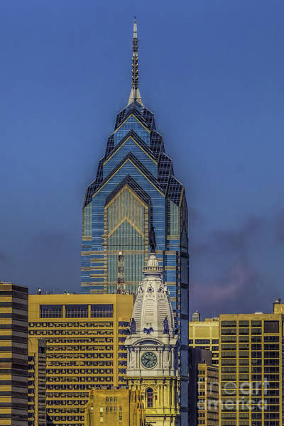 Photograph - Philly Skyline-old And New by Nick Zelinsky