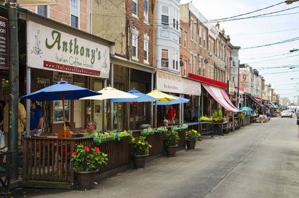 Philly Digital Art - Philly's Italian Market by Bill Cannon
