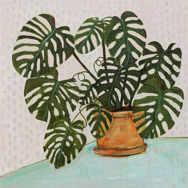 Wall Art - Painting - Philodendron by Blenda Studio