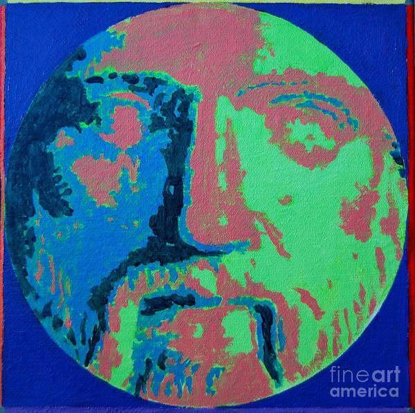 Painting - Philosopher - Pythagoras by Ana Maria Edulescu
