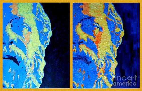Painting - Philosopher - Socrates 2 by Ana Maria Edulescu