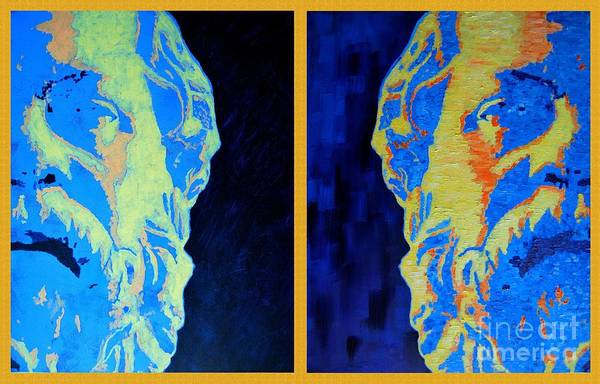Painting - Philosopher -socrates 1 by Ana Maria Edulescu