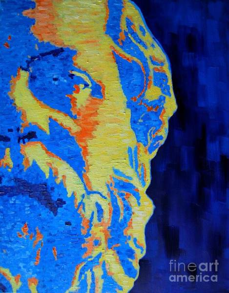 Painting - Philosopher - Socrates 3 by Ana Maria Edulescu
