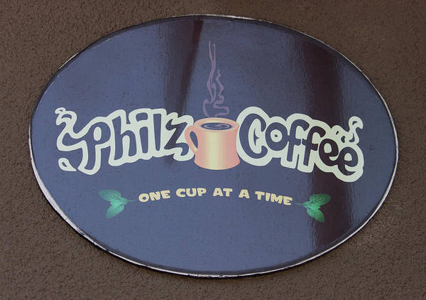 Wall Art - Photograph - Philz Coffee - One Cup At A Time by Suzanne Gaff