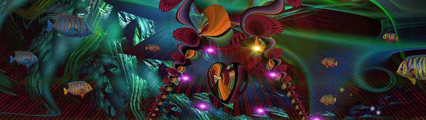 Phish Digital Art - Phishy by Phil Sadler
