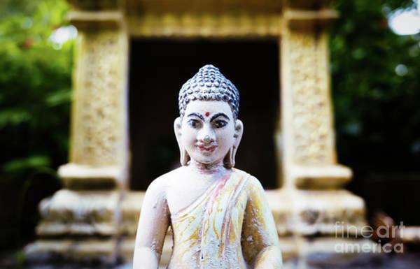 Wall Art - Photograph - Phnom Penh Buddha by Dean Harte
