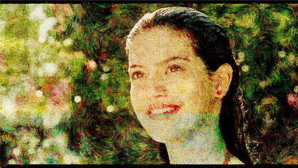 Phoebe Digital Art - Phoebe Cates by Lora Battle