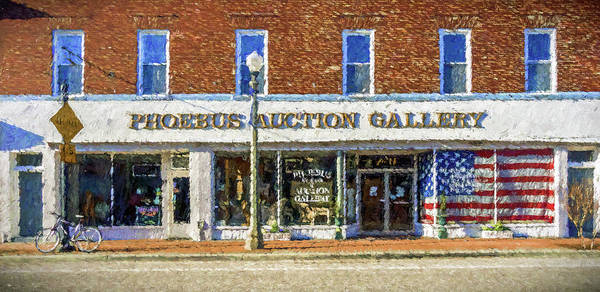 Photograph - Phoebus Auction Gallery by Jerry Gammon