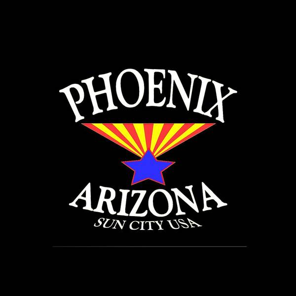 Mixed Media - Phoenix Arizona Design by Peter Potter