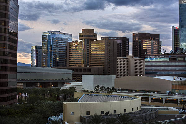 Photograph - Phoenix Downtown Skyline by Dave Dilli