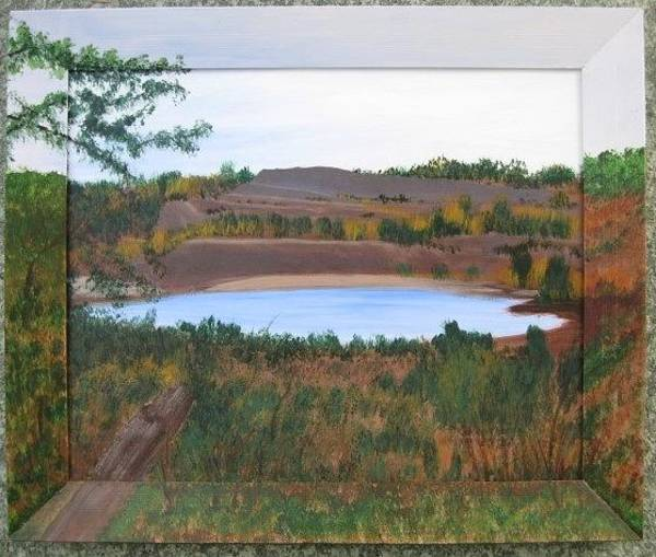 Painting - Phoenix Lake by Lorraine Bradford