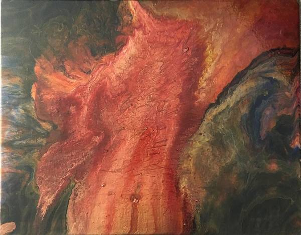 Painting - Phoenix  by Rebecca Davidson