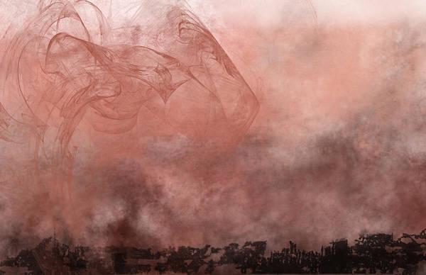 Arisen Painting - Phoenix Rising by Christopher Gaston