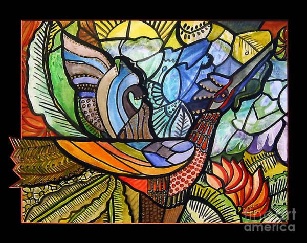 Painting - Phoenix Rising by Marilyn Brooks