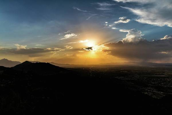Photograph - Phoenix Sunset by Mike Dunn