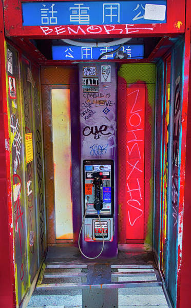 Photograph - Phone Graffiti Series 5 by Carlos Diaz