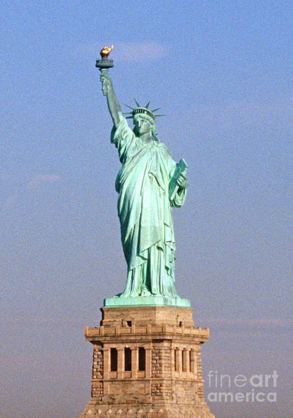 Wall Art - Photograph - Photo Of The Statue Of Liberty by American School